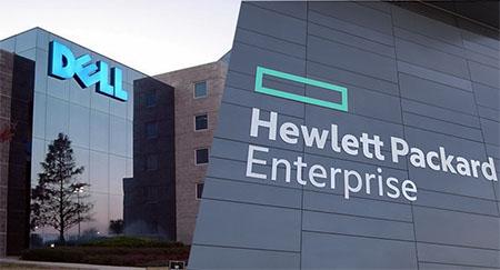 رقابت بسیار نزدیک Dell و HPE در آمار فروش سرورها