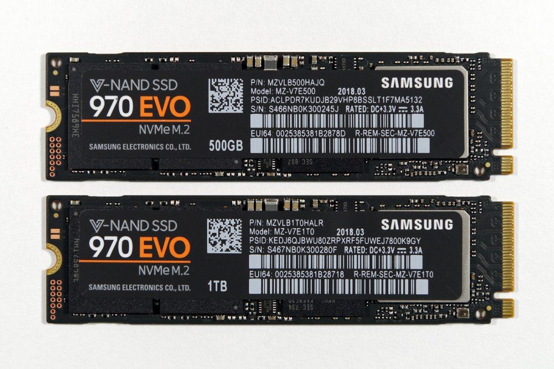 سامسونگ SSD جدید خود با نام 970 Pro و 970 Evo را معرفی کرد