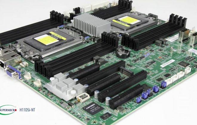 معرفی مادربرد Supermicro H11DSi-NT Dual AMD EPYC