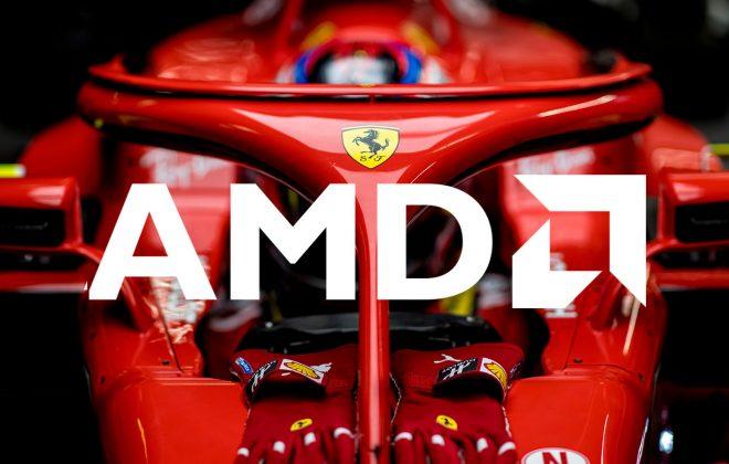 همکاری AMD و Ferrari برای معرفی پردازنده Threadripper