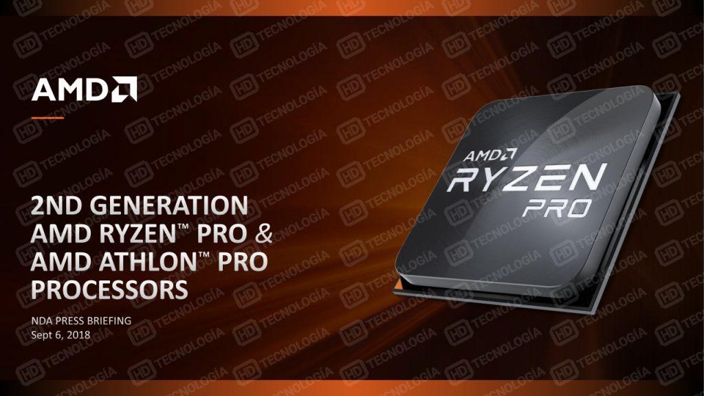 اطلاعات جدید از نسل دوم پردازندههای Ryzen Pro شرکت AMD