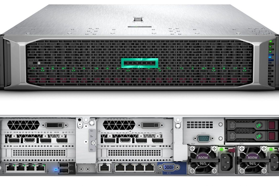 معرفی سرور HPE ProLiant DL385 Gen10