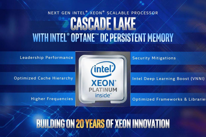 پردازندههای Cascade Lake Advanced Performance توسط اینتل معرفی شد