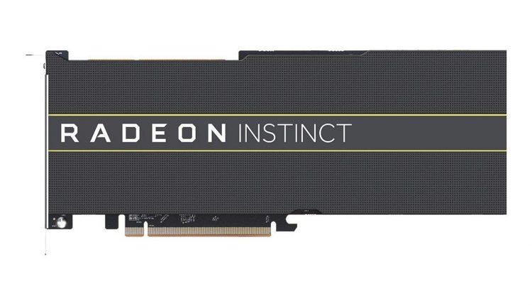 پرده برداری AMD از اولین پردازنده گرافیکی هفت نانومتری مخصوص دیتاسنتر